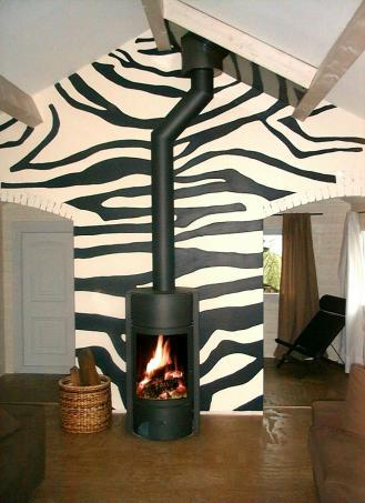 poele a bois stuv 30 en acier. Black Bedroom Furniture Sets. Home Design Ideas