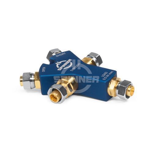 Oslt kit d'étalonnage compact (4-en-1) dc-6 ghz 2.2-5 fiche mâle à vis - spinner