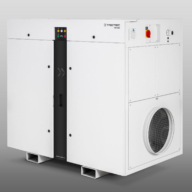 Déshydrateur industriel à adsorption ttr 8200