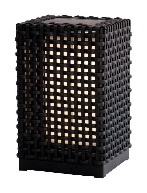 Lampadaire extérieur solaire hauteur 24,5cm 20lm - zenitech