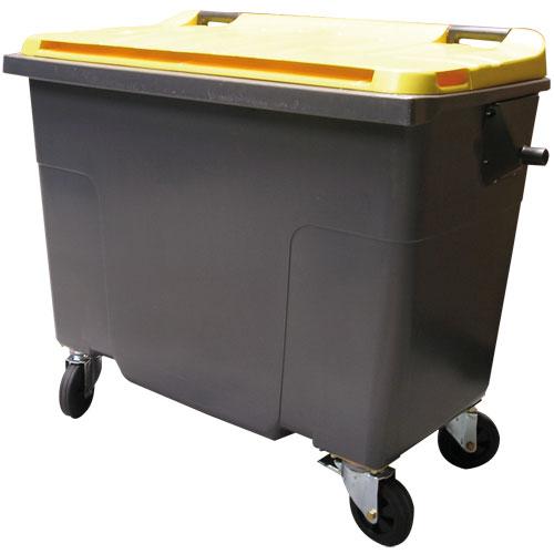 Collecte des dechets - conteneurs 4 roues 660 litres