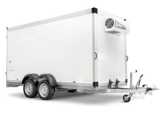 Tk 25 32 18 à 24 pf80 - remorque frigorifique - humbaur - charge utile 1422 kg