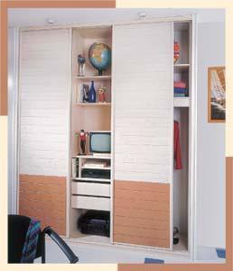 Aménagement d'intérieur : placard - gamme lambris