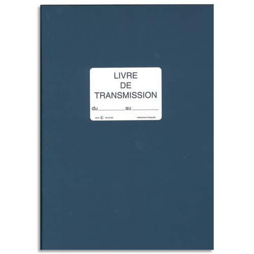 ELVE REGISTRE LIVRE DE TRANSMISSION 150 PAGES, FORMAT 21X29,7CM. COLORIS BLEU SP620