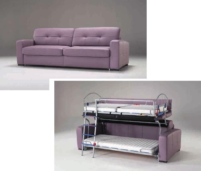canape transformable en 2 lits surperposes. Black Bedroom Furniture Sets. Home Design Ideas
