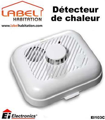 D tecteurs de mouvement ei electronics achat vente de for Detecteur de chaleur