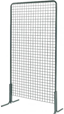 grille d 39 exposition metallique. Black Bedroom Furniture Sets. Home Design Ideas