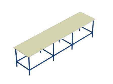plan de travail lourd longueur 3500 mm rolleco. Black Bedroom Furniture Sets. Home Design Ideas