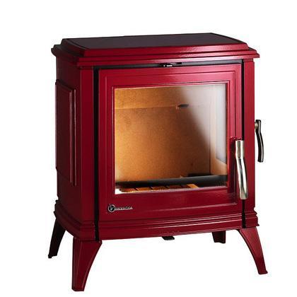 Po le bois invicta achat vente de po le bois invicta comparez les p - Poele bradford rouge ...