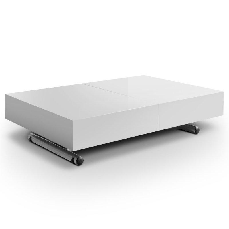 Relevable Couverts 12 Brillante Itaca Table Extensible Blanche uwOZPiXkT