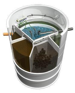Micro station d'épuration aquatec at-8eh