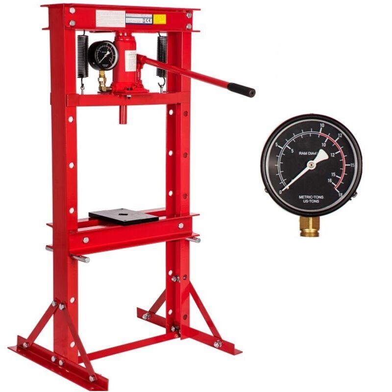 WilTec Presse /à Levier 1T Presse Manuelle /à cr/émaill/ère Outil d/'Atelier Fonte Force de Compression 2000 kg