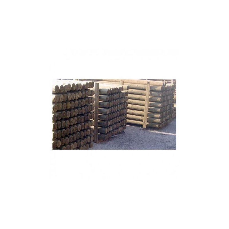Poteau de cl ture comparez les prix pour professionnels for Piscine bois autoclave classe 4