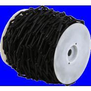 Chaîne Ø 6mm x 50m Noir en bobine - SIGNAL - 1160224