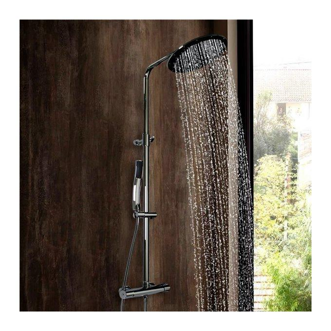 colonne de douche design laiton chrome hauteur reglable. Black Bedroom Furniture Sets. Home Design Ideas