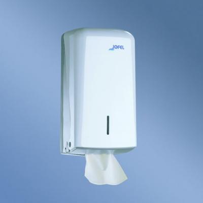 Distributeur de papier toilette support double