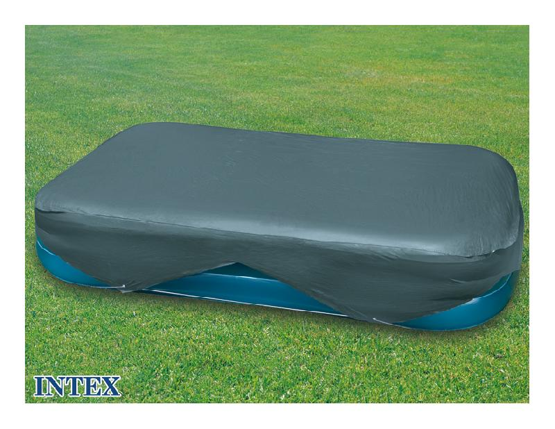 B che pour piscine rectangulaire intex m x m for Bache piscine intex 3 05