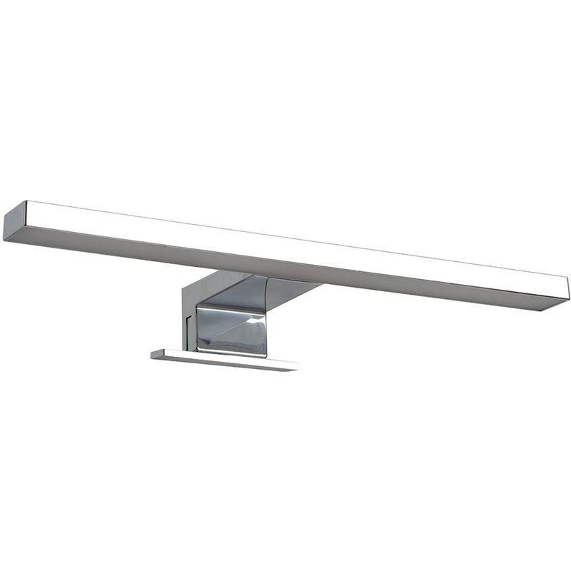 Acier Et Salle 40 Pour De En Plexiglass Bain Moderne Cm Lampe Led EYW92IDH