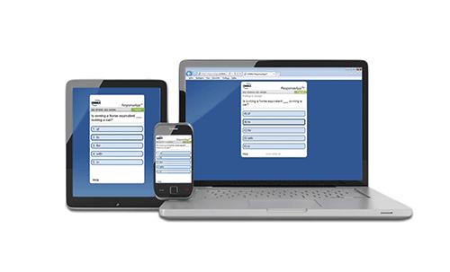 Outil de vote par internet (via smartphone, tablette, etc.) - ombea responseapp