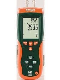 Anémomètre à tube de pitot-manomètre hd350