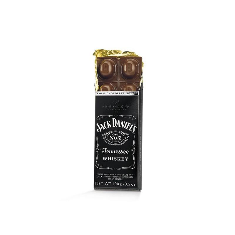 Chocolat jack daniel's whiskey tablette 100g