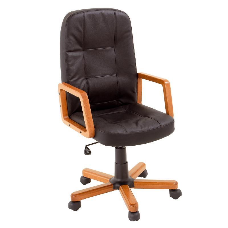 fauteuils budget cuir bois comparer les prix de fauteuils budget cuir bois sur. Black Bedroom Furniture Sets. Home Design Ideas