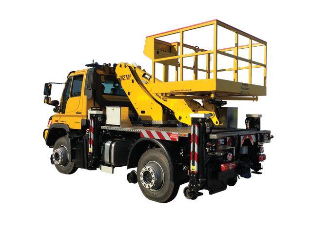 102 tm camion nacelle télécospique - fe group - 6500 kg