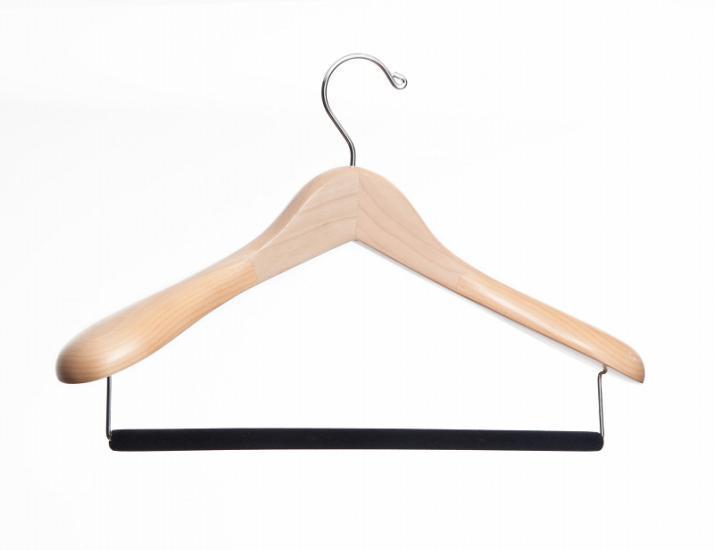 cintre costume hanger project naturel comparer les prix de cintre costume hanger project naturel. Black Bedroom Furniture Sets. Home Design Ideas