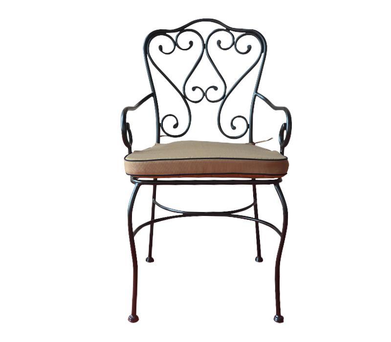 Chaise et fauteuil d 39 ext rieur itec achat vente de for Chaise en fer