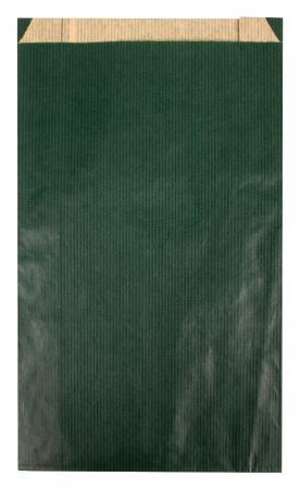 102346 - CARTON DE 250 POCHETTES KRAFT À SOUFFLET 18X5,5X35 CM, COLORIS VERT