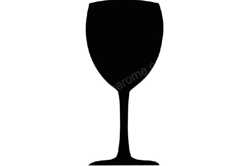 ardoise en forme de verre vin securit 500 mm comparer les prix de ardoise en forme de verre. Black Bedroom Furniture Sets. Home Design Ideas