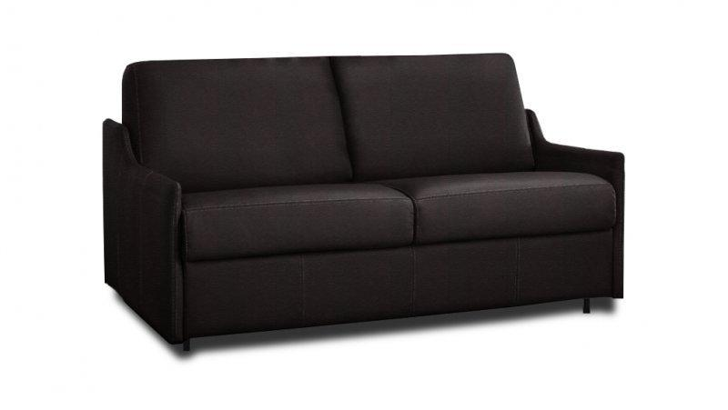 canape convertible rapido luna cuir couchage quotidien 160cm. Black Bedroom Furniture Sets. Home Design Ideas