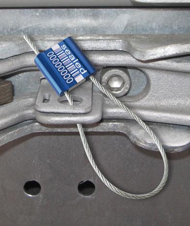 Scellé de sécurité unisto metalo 25