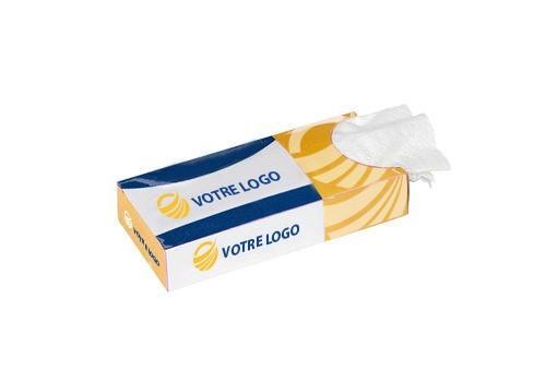 Boîte mouchoirs de poche personnalisée