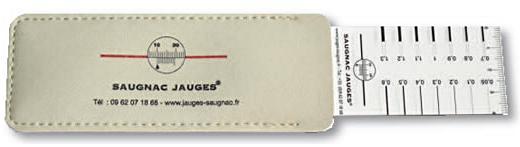SAUGNAC JAUGES FISSUROMETRE