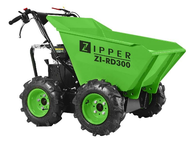 La capacit/é de charge de 300 kg dumper petite cylindr/ée du moteur /à essence est 196cc brouette 4,8 kW,Red