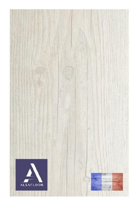 Sol stratifie alsafloor osmose parquet pin blanc avec - Parquet 4 chanfreins ...
