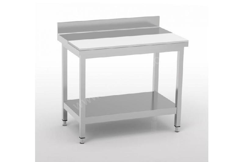 TABLE DE DÉCOUPE PROFESSIONNELLE 20 MM AVEC ÉTAGÈRE ERATOS - 600 X 1500 MM