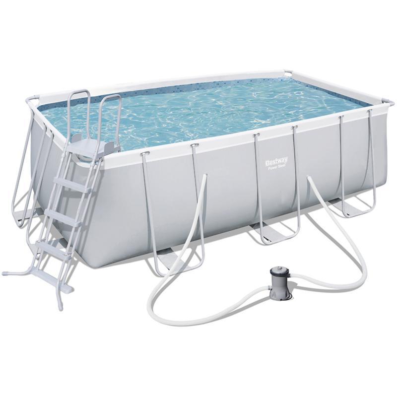 Piscine en kit tous les fournisseurs de piscine en kit for Piscine tubulaire ovale 4 88 x 3 05 x 1 07 m