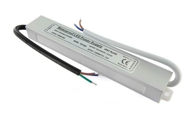TRANSFORMATEUR 12 VOLTS - 20 WATTS ÉTANCHE IP67 - TRANSFORMATEUR LED
