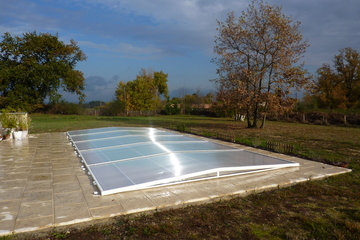 Abri integral produits abris de piscines for Piscine evolutive 9