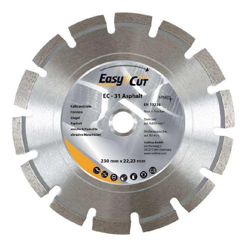 DISQUE DIAMANT EC- 31 350X3,2X10X25,4 MM CEDIMA