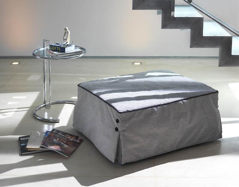 pouf lit bill design studio mb. Black Bedroom Furniture Sets. Home Design Ideas