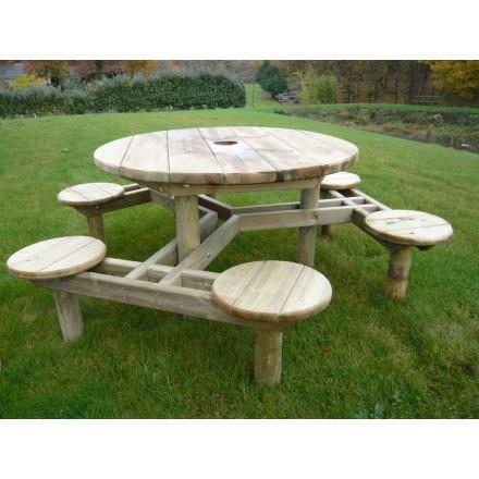 leader equipements produits de la categorie tables publiques en bois. Black Bedroom Furniture Sets. Home Design Ideas