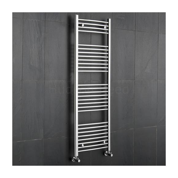 radiateur s che serviettes design incurv en chrome 1500 x 500mm 457 hudson reed comparer. Black Bedroom Furniture Sets. Home Design Ideas