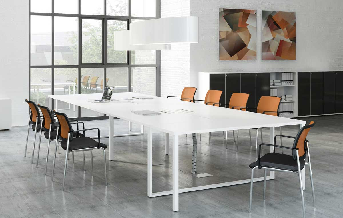 table de conference ogiq 14 personnes. Black Bedroom Furniture Sets. Home Design Ideas