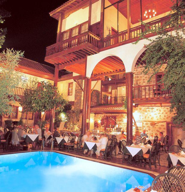 SéJOUR à L'HOTEL ALP PASA 3/4 éTOILES STYLE BELLE EPOQUE à ANTALYA