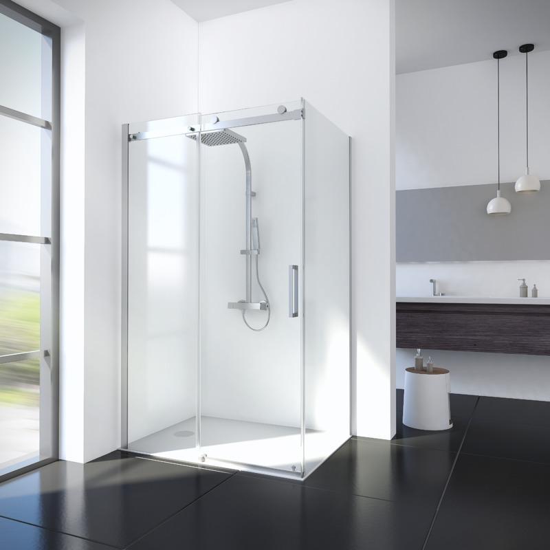 Paroi de douche porte tous les fournisseurs de paroi - Porte de douche coulissante 80 cm ...