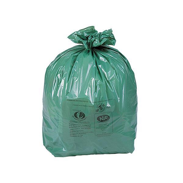 sacs poubelle verts cologiques sac poub 100l vert eco cart 200 comparer les prix de sacs. Black Bedroom Furniture Sets. Home Design Ideas