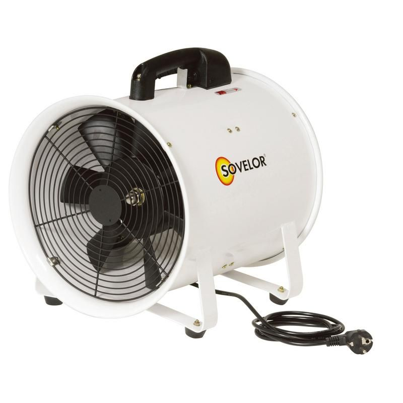 VENTILATEUR EXTRACTEUR HELICOIDE PORT D.300 DEBIT AIR 3900M3/H